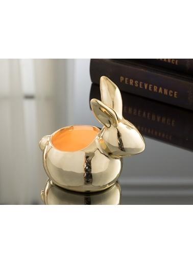 Madame Coco Golden Rabbit Obje Renkli